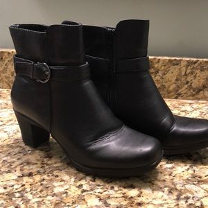 Croft and Barrow Black Bootie Size 9